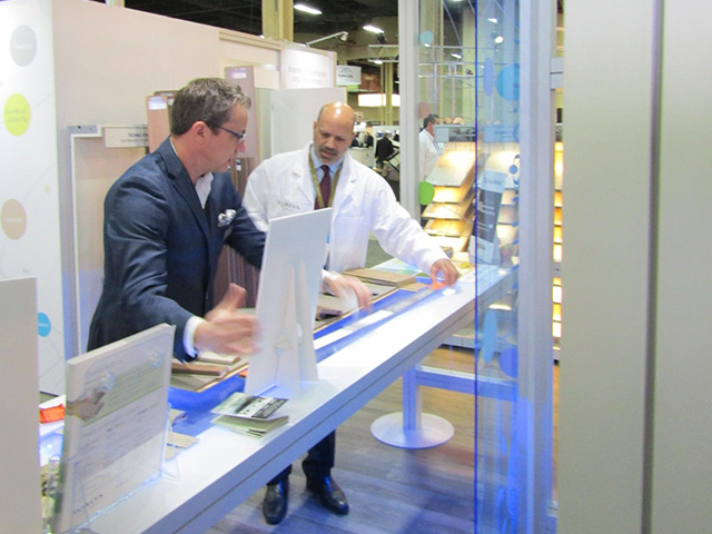 TORLYS at Surfaces demonstration